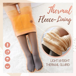 Fake Translucent Fleece Pantyhose