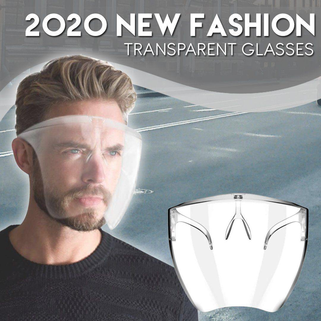 2020 New Fashion Transparent Glasses
