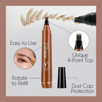 4 Points Tattoo Brow Pen - Everlyfave