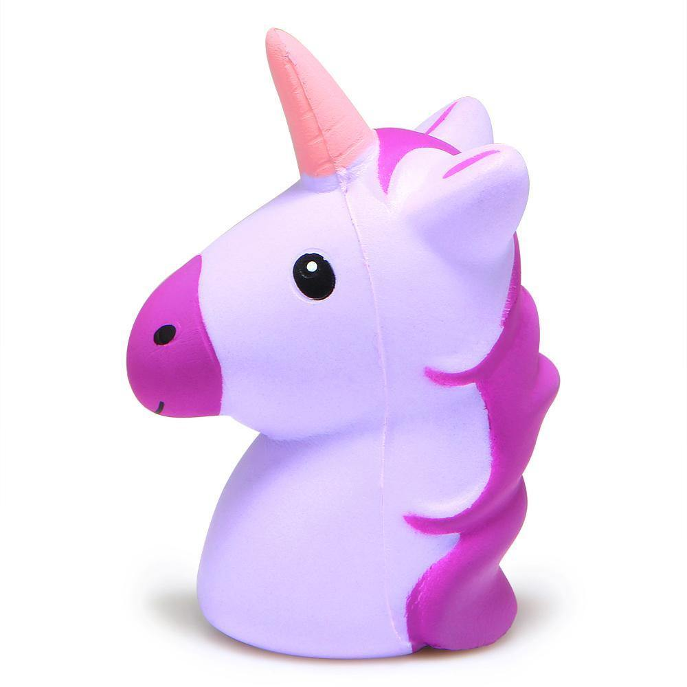 Unicorn Head Squishy Toy - Everlyfave
