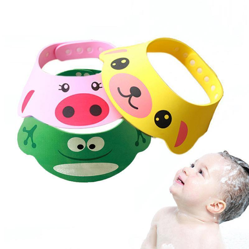 Cute Animal Kids Shower Cap - Everlyfave