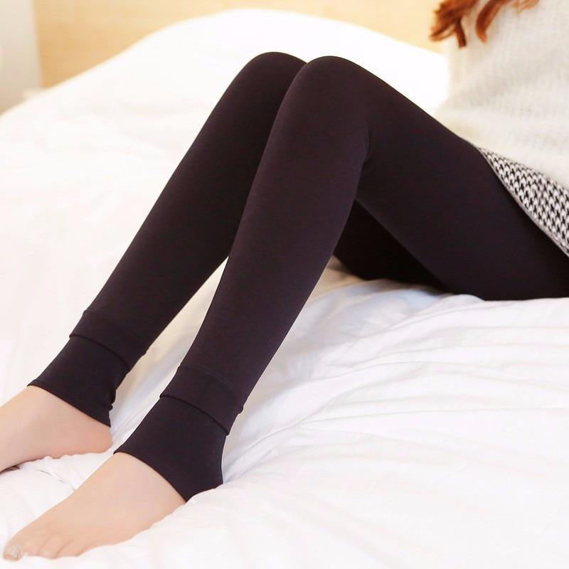Super Comfy Winter Velvet Leggings - Everlyfave