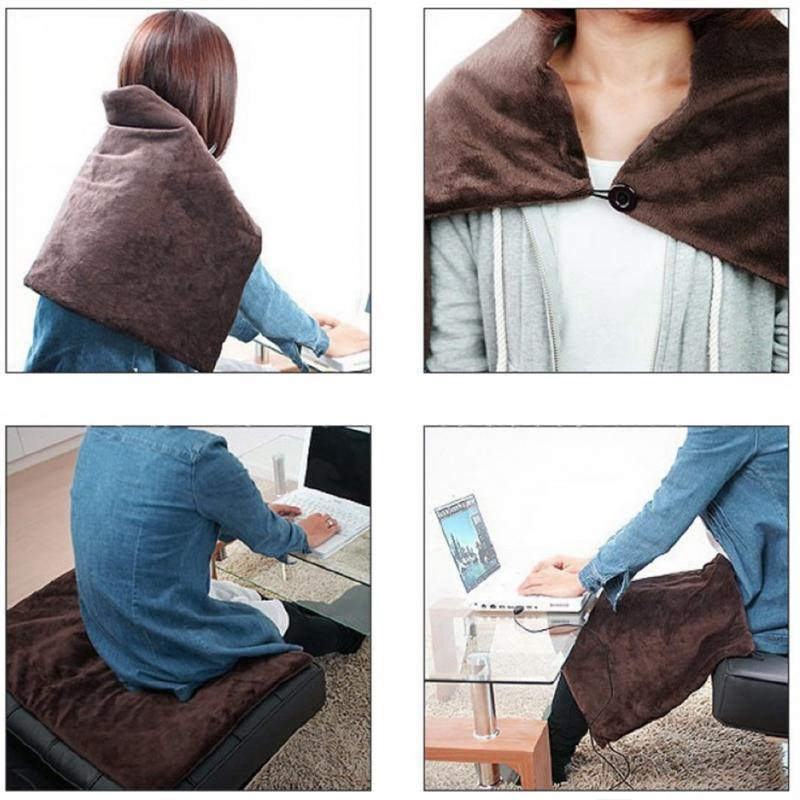 USB Powered Soft Heated Shawl - Everlyfave