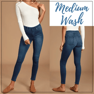Perfect Fit Jeans Leggings - Everlyfave