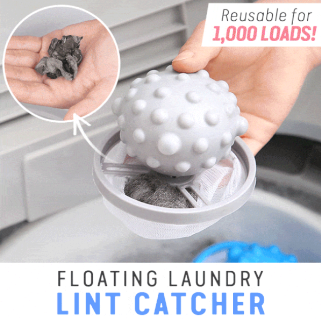 Floating Laundry Lint Catcher - Everlyfave