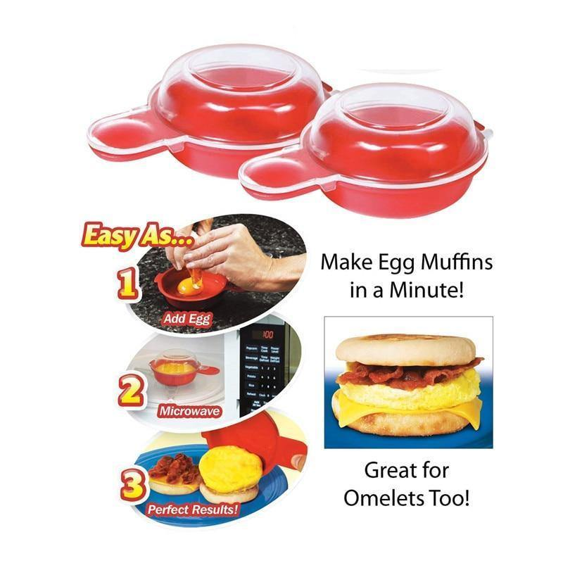 Simple Microwave Egg Cooker - Everlyfave