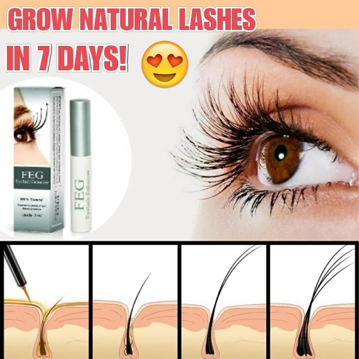 100% Natural Eyelash & Eyebrow Serum - Everlyfave