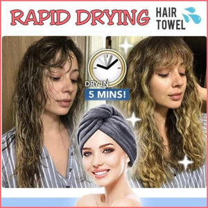 Rapid Drying Hair Towel - Everlyfave