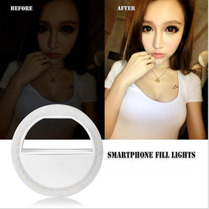 Selfie Ring Flash Led - Everlyfave