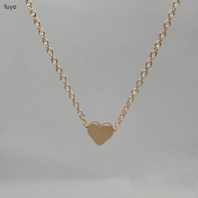 Tiny Heart Choker Necklace - Everlyfave