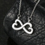 "To My Wife ""You Make Me Smile"" Infinity Hearts Necklace - Everlyfave"