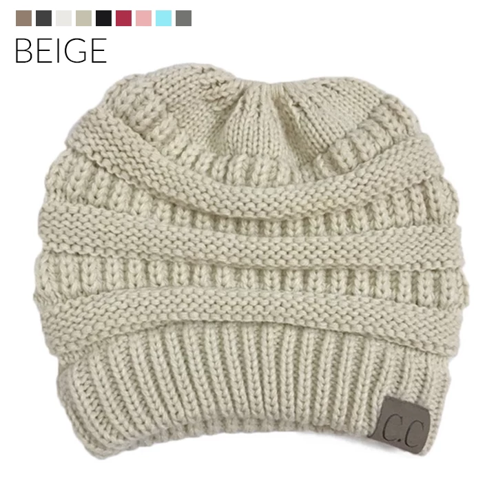 Hand Knit Toasty Beanie - Everlyfave