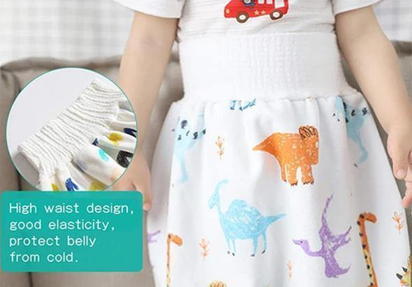 Comfy Children's Diaper Skirt - Imoost