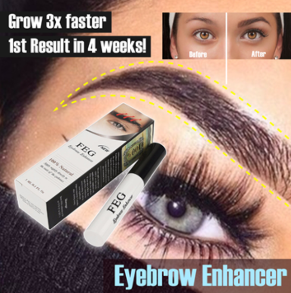 100% Natural Eyebrow Enhancer - Everlyfave