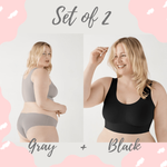 Everlyfave™ Plus Size Ice Silk Comfort Bra - Everlyfave