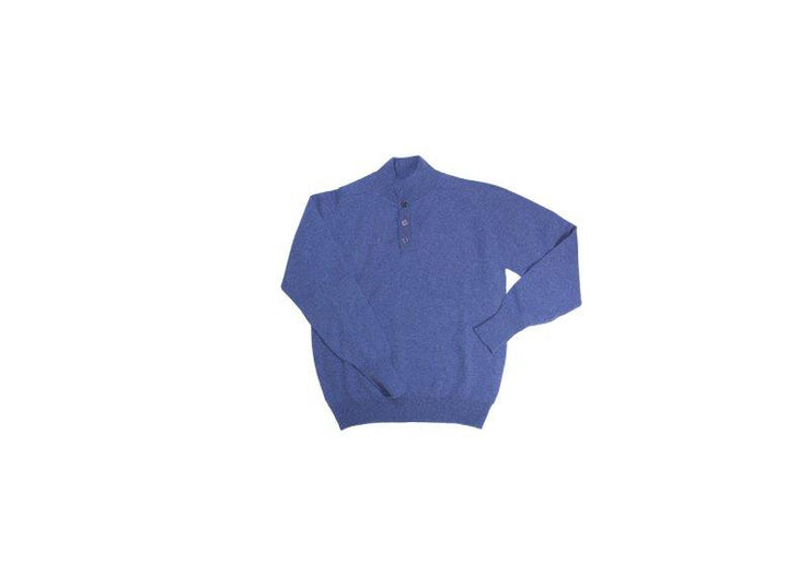 100% Lambswool Jeans Button Up Jumper