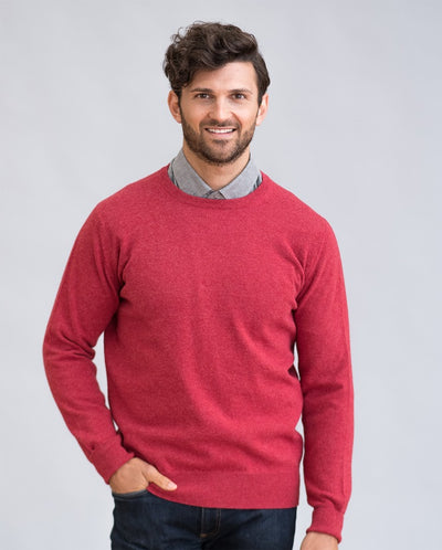 William Lockie Gordon Crew Neck Sweater in Geelong