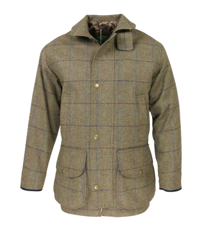 Men's Chrysalis Chiltern Field Coat in Tweed