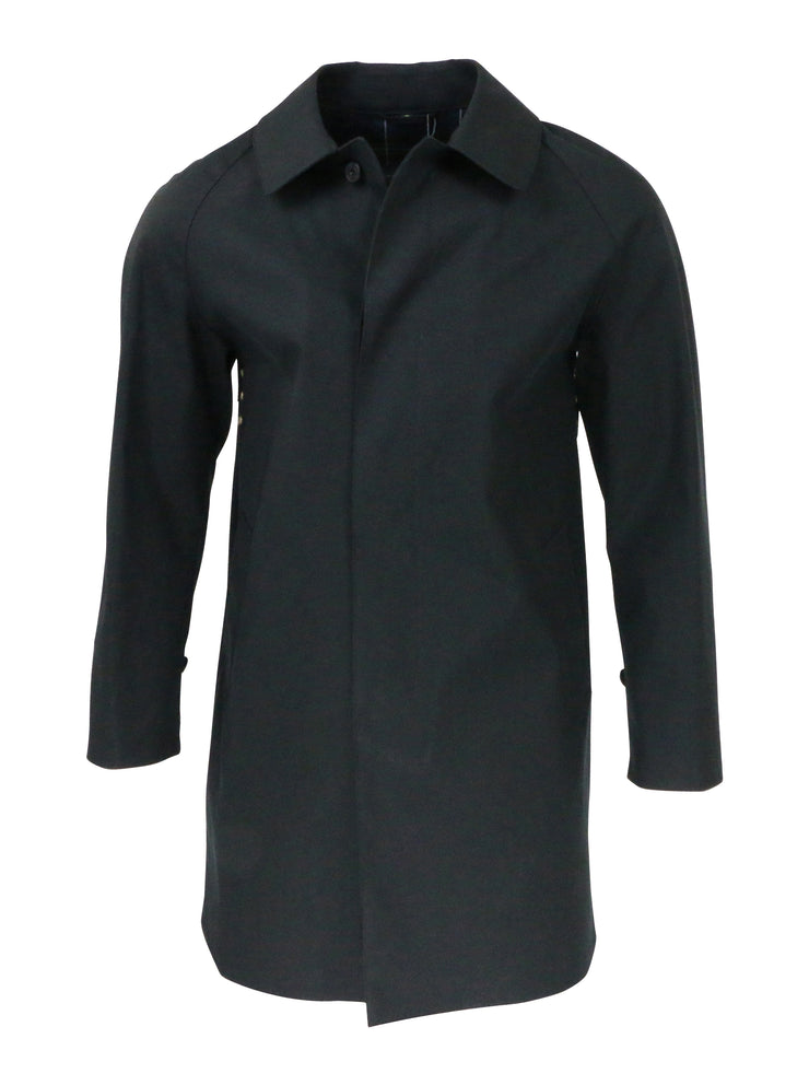Mackintosh Raincoat in Ink Navy Gents