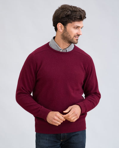William Lockie Melrose Crew Neck in Cashmere