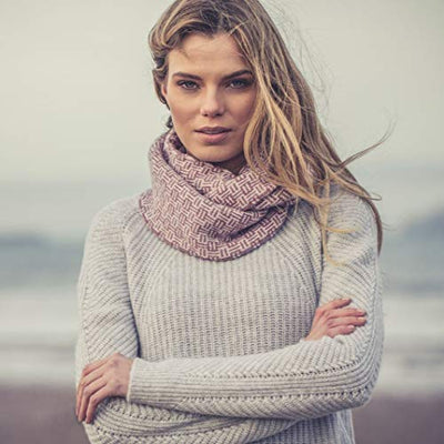 William Lockie Cashmere Becky Snood
