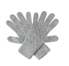 William Lockie Cashmere Cable Gloves