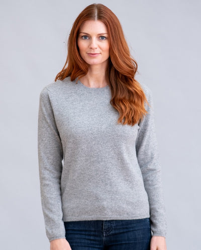 William Lockie Charlotte Crew Neck Sweater In Cashmere