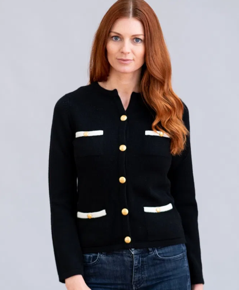 William Lockie Claudia Jacket in Cashmere