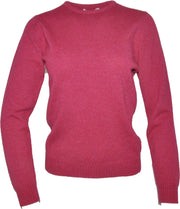 William Lockie Lindsey Crew Neck Sweater in Lambswool
