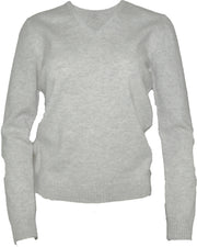 William Lockie Lindsey Vee Neck Sweater in Lambswool
