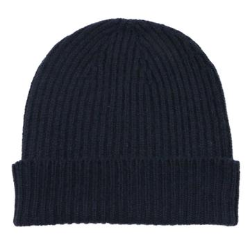 William Lockie Cashmere Ribbed Hat
