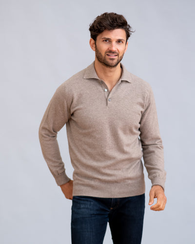 William Lockie Oxton Sportshirt in Cashmere