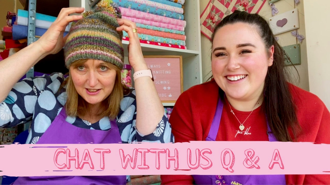 Chat with us Question & answer with Lucy & Andrea