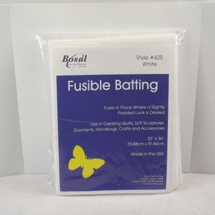 "Polyester fusible Batting 22"" x 36"" Bosal"