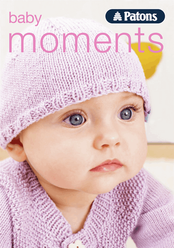 Patons Baby Moments 4ply knitting & crochet book two,  - 0-24 months