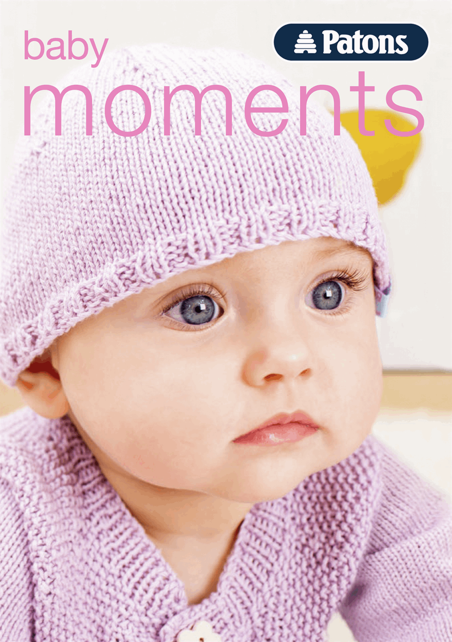 Patons Baby Moments 4ply & DK knitting & crochet book two,  - 0-24 months