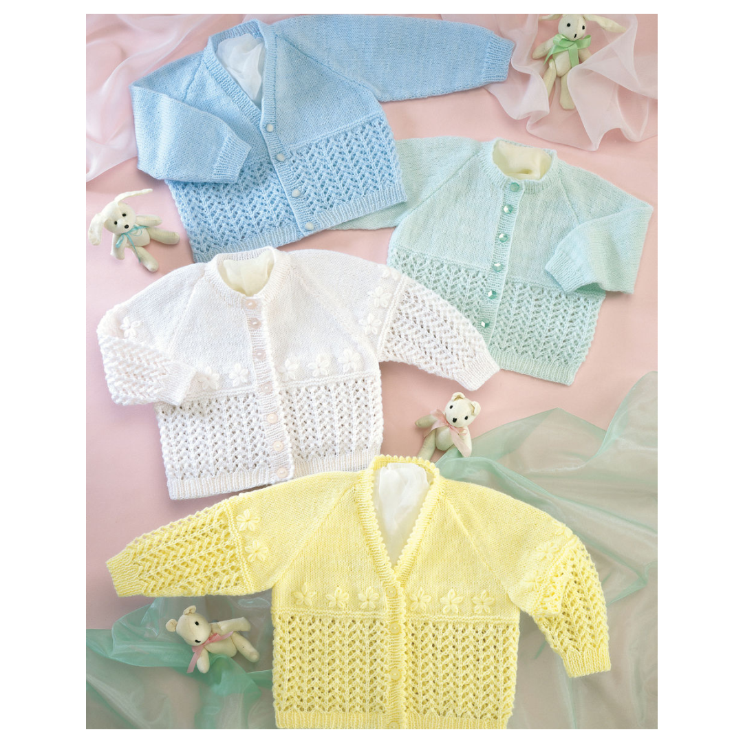 sirdar 3 ply baby cardigan knitting pattern