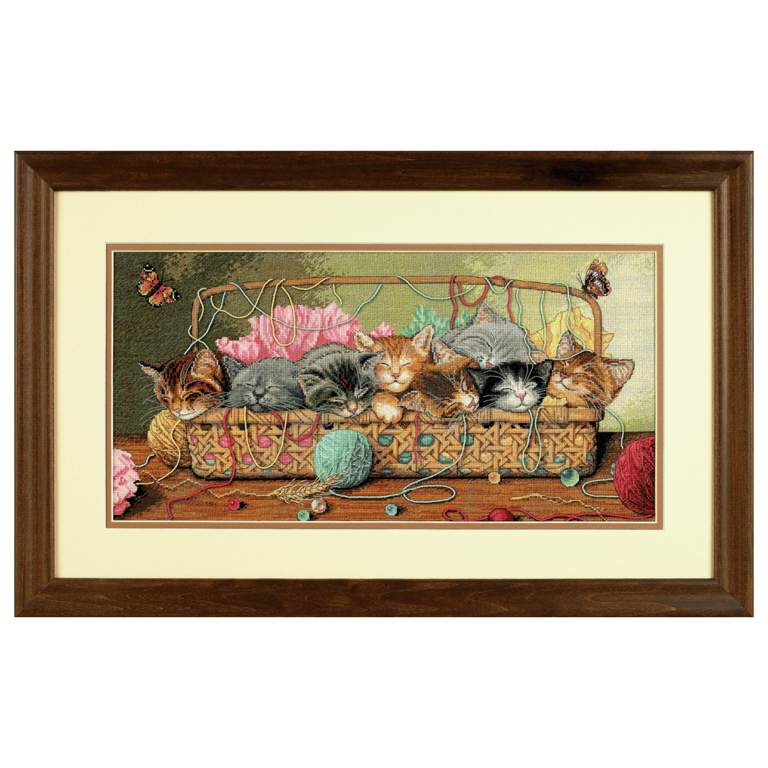 Dimensions Gold: Counted Cross Stitch, Kitty Litter