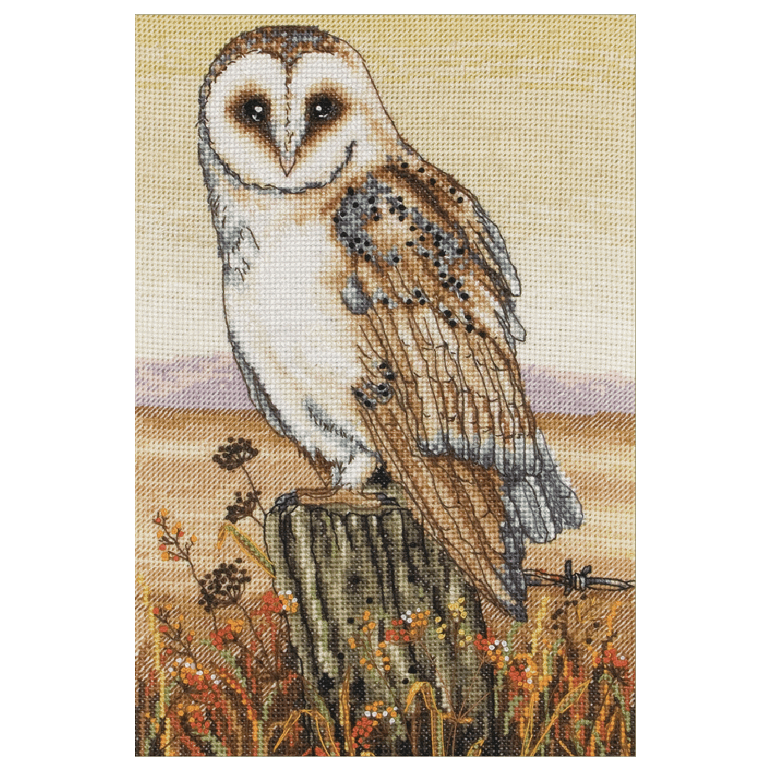 Anchor Owl Horizon Counted cross stitch kit