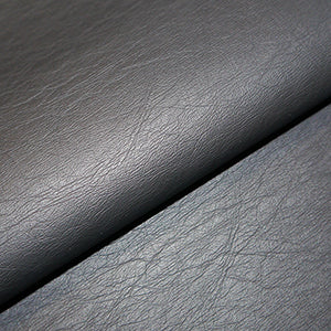 "NEW Black Faux leather fabric 140cm wide (55"") sold per half metre"