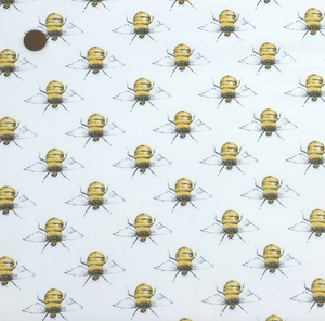 Bumble Bee 100% Cotton Fabric Per Half Metre 112cm Wide