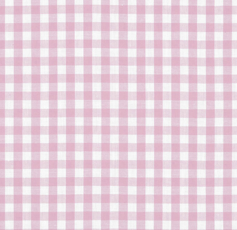 Gingham Polycotton Fabric, 1/4 Inch design, 15 beautiful Colours, sold Per Half Metre