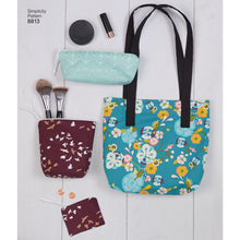 Simplicity 24 piece bag sewing pattern