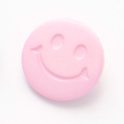 Smiley Face Buttons ; 15mm ; choice of colours pack of 10 ~