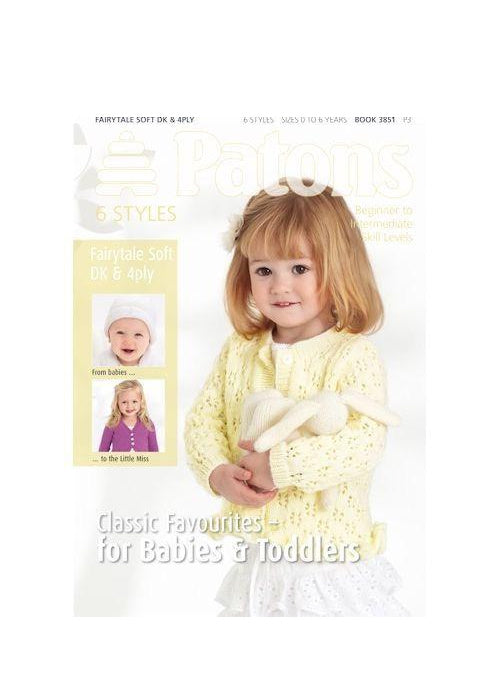 Patons Classic Favourites - For Babies & Toddlers, Knitting Pattern