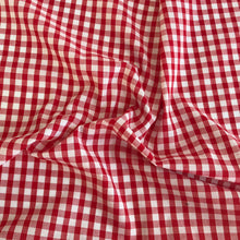 Gingham Polycotton Fabric, 1/8 Inch, Tiny design, 110cm Wide, by the half metre ~
