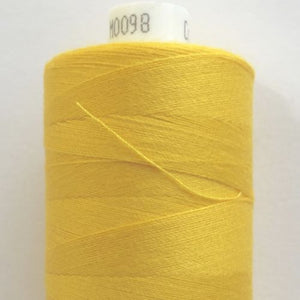 Coats Moon, spun polyester sewing threads, 1000 yards, 30 colours ~