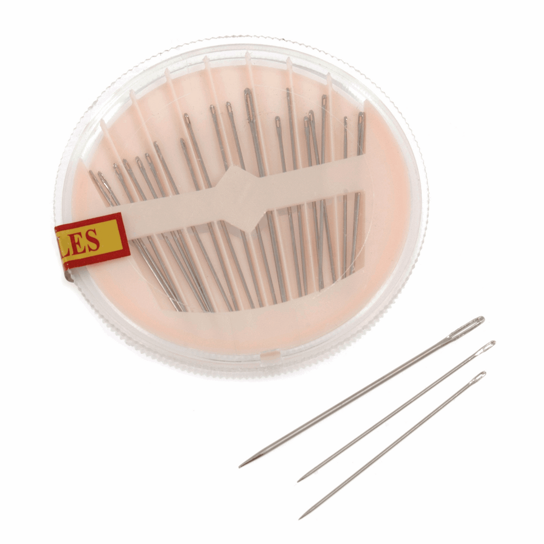 Sewing Needle compacts, contains approximately 20 hand sewing needles