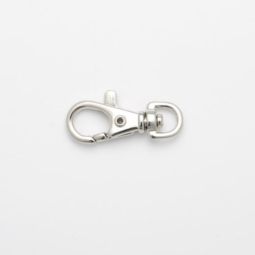 Metal Swivel Hook, 10mm x 35mm, Silver Colour sold per 1 hook~