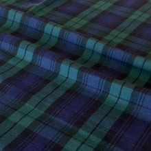 Flat Woven Tartan, 100% cotton fabric, 147cm wide, (110 GSM), by the half metre ~